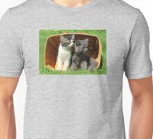 Kitten Smells Something Good Unisex T-Shirt