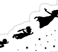 Peter Pan Flying Sticker