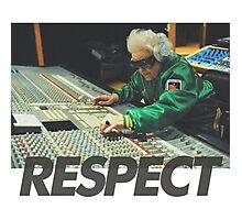 Respect the DJ Photographic Print