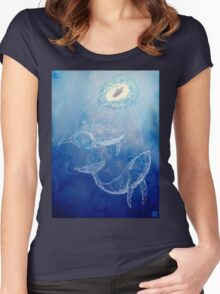 Moby Dick Women's Fitted Scoop T-Shirt