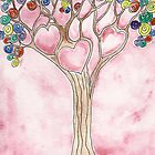 Tree of Hearts by Deb Coats