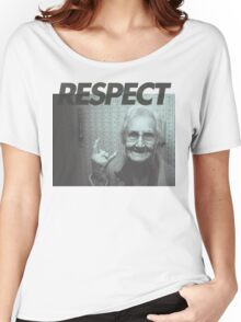 Respect Women's Relaxed Fit T-Shirt