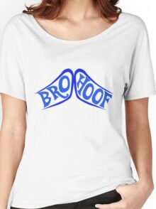 BROHOOF! (blue) Women's Relaxed Fit T-Shirt