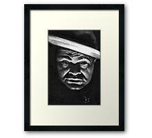 Edward G Robinson ! Framed Print