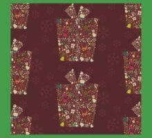Christmas Pattern 12 One Piece - Short Sleeve