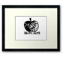 Ryuk Apple - Death Note Framed Print