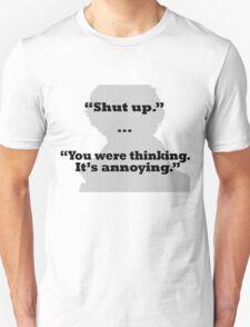 Sherlock on thinking T-Shirt