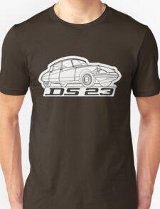 Citroën DS script emblem and illustration Unisex T-Shirt