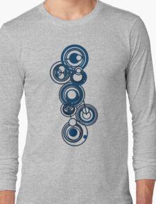 Gallifreyan Graffiti Long Sleeve T-Shirt