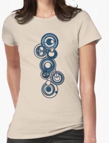 Gallifreyan Graffiti Womens Fitted T-Shirt