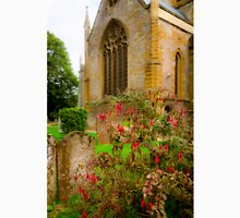 Holy Trinity Church With Flowers & Gravestones Classic T-Shirt