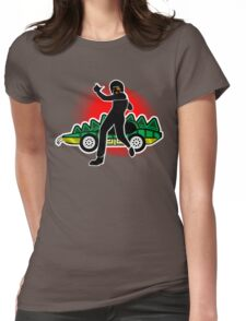 Go, Franky, Go! Womens Fitted T-Shirt