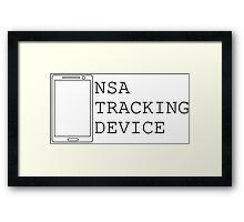 NSA CELL PHONE TRAP... ITS A TRAP!!!! Framed Print