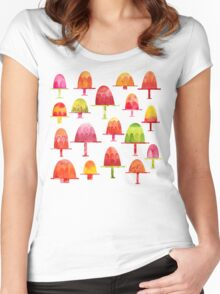 Jellies on Plates Women's Fitted Scoop T-Shirt