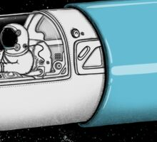 Space Capsule Sticker