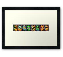 Ships of Farscape Framed Print