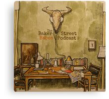The Skull: Baker Street Babes Canvas Print
