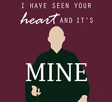 "Voldemort - ""I have seen your heart and it's mine"" Unisex T-Shirt"