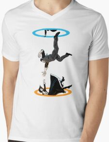 Infinite Loop Mens V-Neck T-Shirt