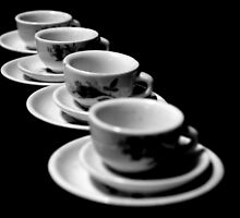 Four For Tea At Four by Natalie Ord