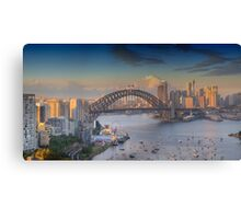 In Living Colour - Sydney Harbour, Sydney Australia - The HDR Experience Canvas Print