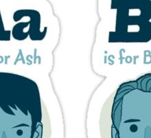 Android Alphabet Sticker