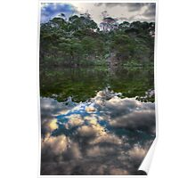 Reflection of an Untouched Land Poster