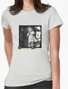 Behind the Wall of Sleep Womens Fitted T-Shirt