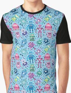 I Love Robots Graphic T-Shirt