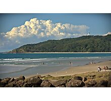 Have you ever been to..... BYRON BAY? Photographic Print