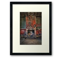 Ben Bullen's waiting Framed Print
