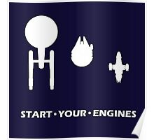 Start Your Engines Poster