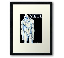 Yeti Framed Print