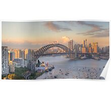 In Living Colour (Variation) - Sydney Harbour, Sydney Australia - The HDR Experience Poster