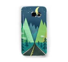 the Long Road at Night Samsung Galaxy Case/Skin