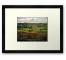 Yorkshire Dales, England, UK, 1980s. Framed Print