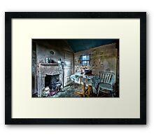 Inside The Shieling Framed Print