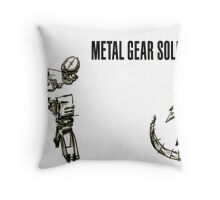 Metal Gear Solid  Throw Pillow