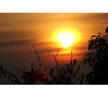 Sunset over Siem Reap Photographic Print