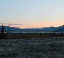 Early Morning; Centennial Valley #3 by Ken McElroy