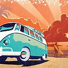 Eternal Kombi Summer by SFDesignstudio