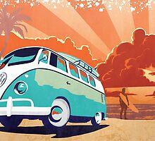 Eternal Kombi Summer by SFDesignstudio