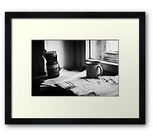 Bleak... Framed Print