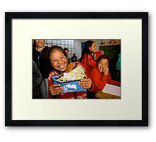 Simple Joy Framed Print