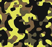Electric Lemonade Camouflage Pattern by kayve