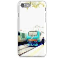 Albano Laziale railway station: trains iPhone Case/Skin