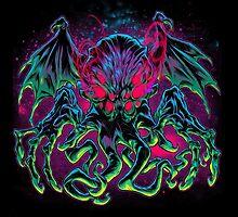 COSMIC HORROR CTHULHU by beastpop
