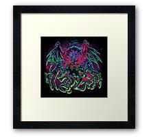 COSMIC HORROR CTHULHU Framed Print