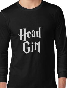Head Girl Long Sleeve T-Shirt