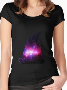 Sorcerer's Hat  Women's Fitted Scoop T-Shirt